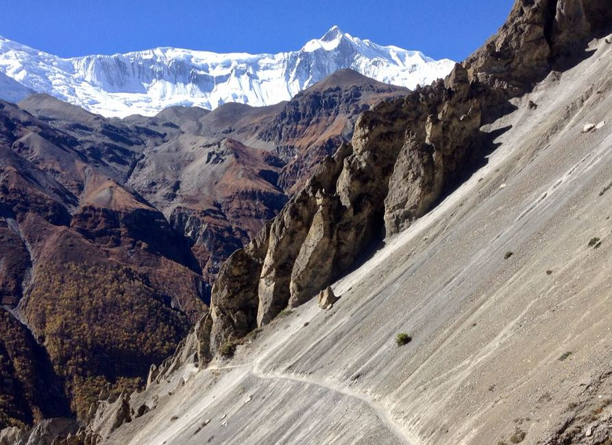 World Highest Lake Motorbike Tour in Nepal (Tilicho Lake)